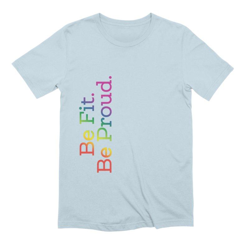 ALL THE PRIDE Men's T-Shirt by FlambeauxFit's Artist Shop
