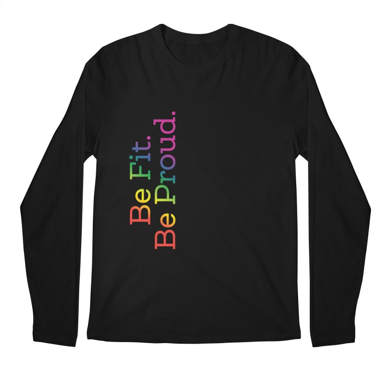 ALL THE PRIDE Men's Regular Longsleeve T-Shirt by FlambeauxFit's Artist Shop