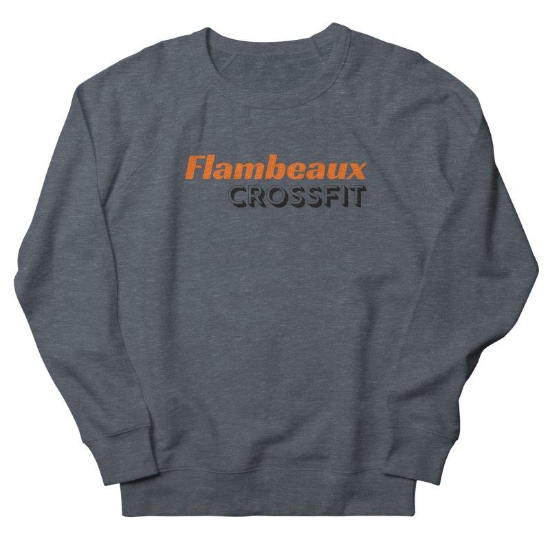 Flambeaux Bold Men's Sweatshirt by FlambeauxFit's Artist Shop