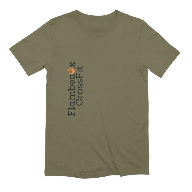 Vert Logo Men's Extra Soft T-Shirt by FlambeauxFit's Artist Shop