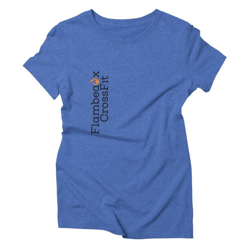 Vert Logo Women's Triblend T-Shirt by FlambeauxFit's Artist Shop