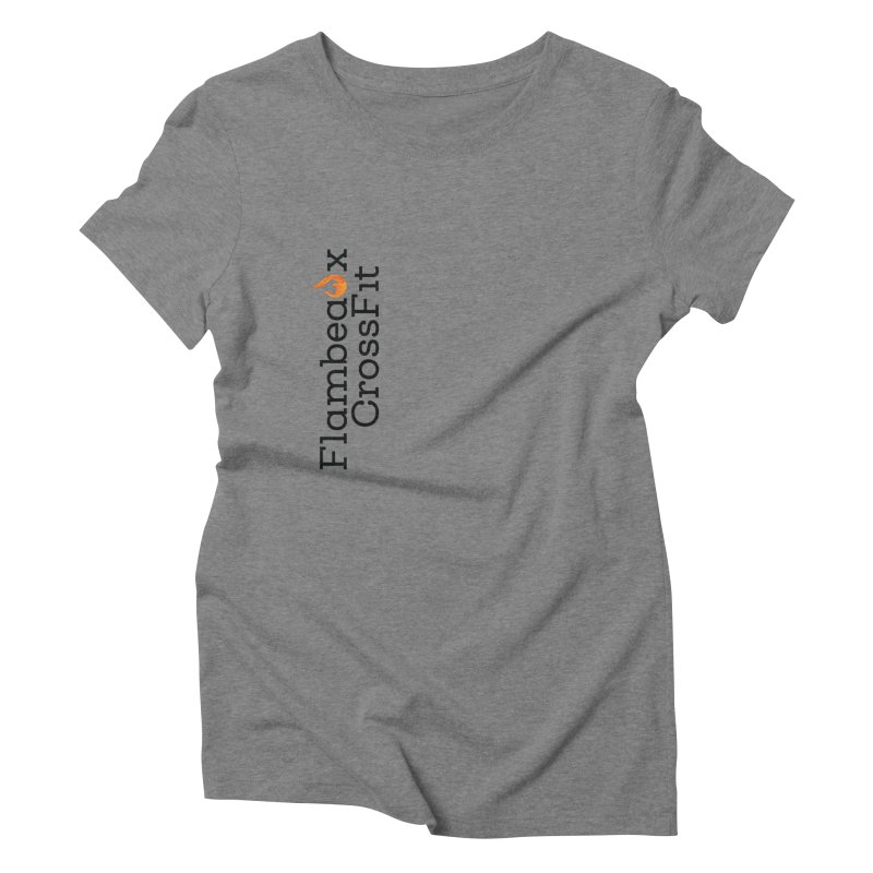 Vert Logo Women's Triblend T-Shirt by FlambeauxFit's Artist Shop
