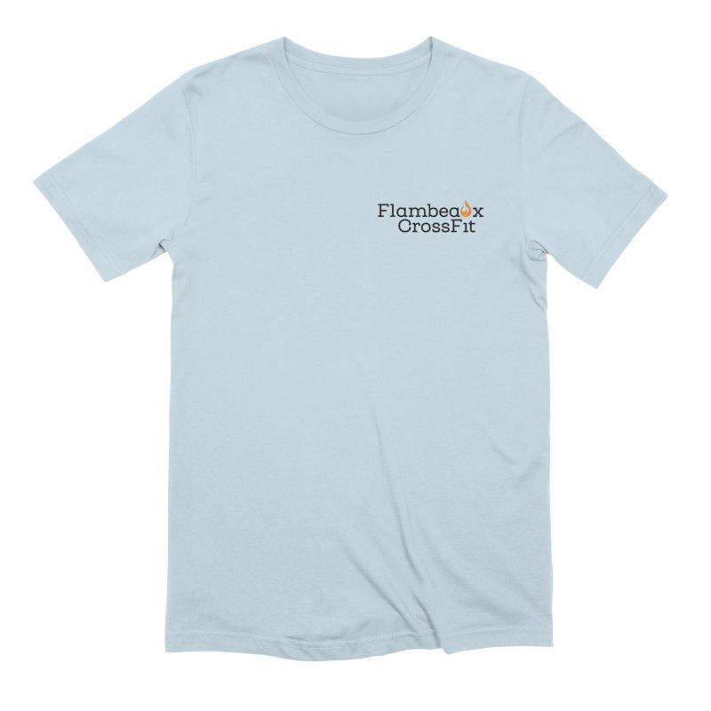 Flambeaux Logo Pocket Men's T-Shirt by FlambeauxFit's Artist Shop