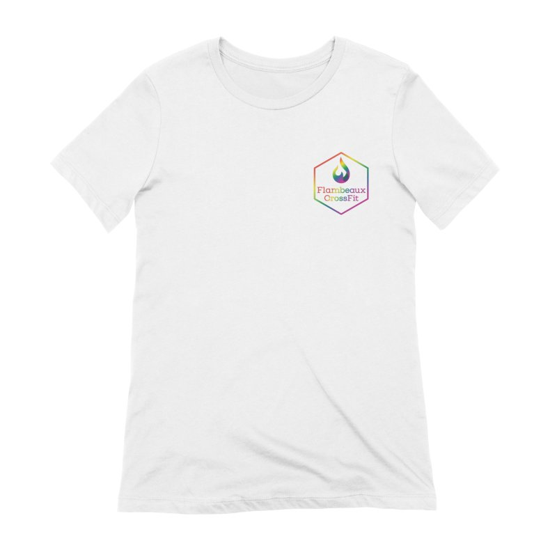 Rainbow in Your Pocket Women's T-Shirt by FlambeauxFit's Artist Shop