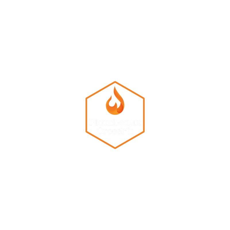 Orange Badge by FlambeauxCrossFit's Artist Shop