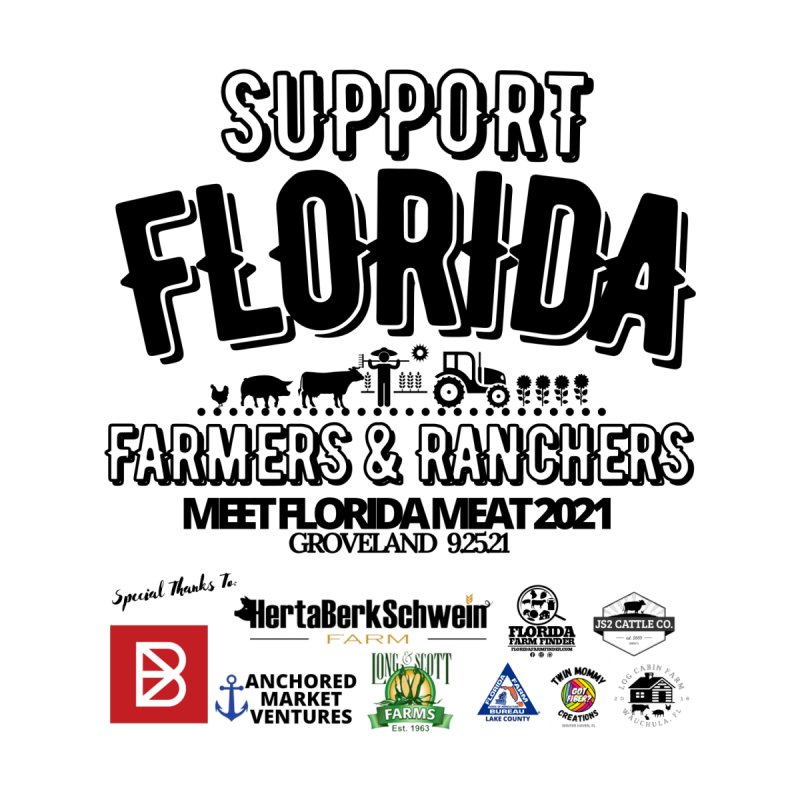 Meet FL Meat 2021 Men's T-Shirt by FloridaFarmFinder's Merch Shop