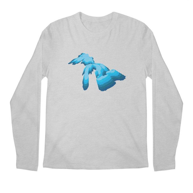 GREAT GREAT LAKES Men's Longsleeve T-Shirt by    Flummox Industries