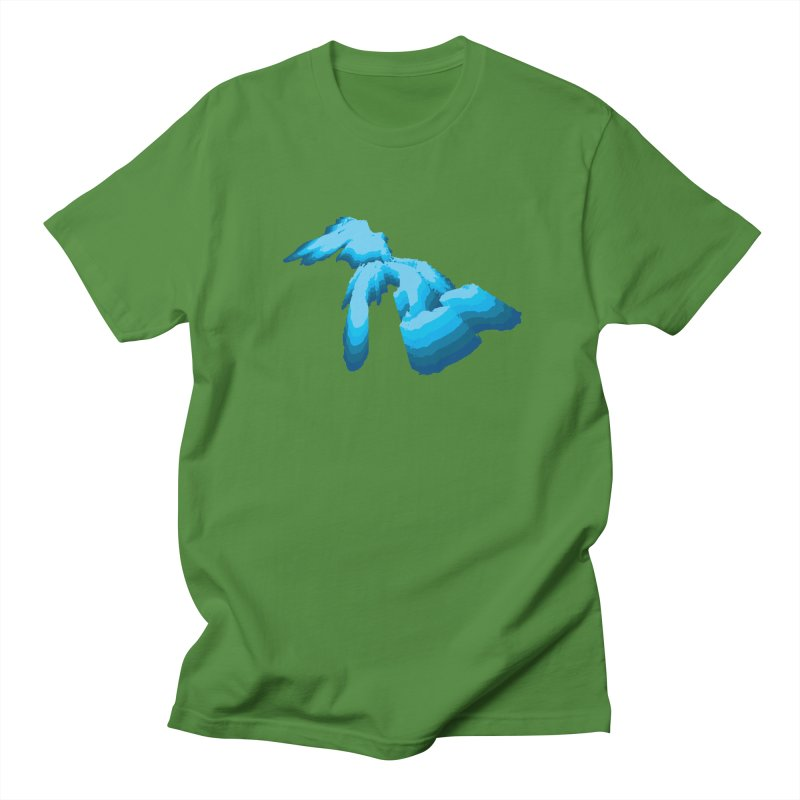 GREAT GREAT LAKES Men's T-Shirt by    Flummox Industries