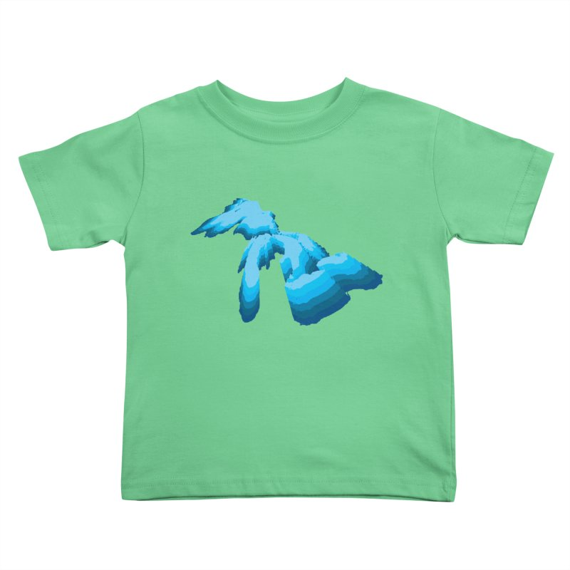 GREAT GREAT LAKES Kids Toddler T-Shirt by    Flummox Industries
