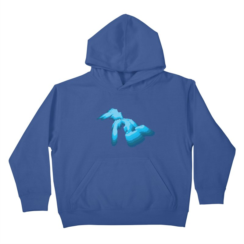 GREAT GREAT LAKES Kids Pullover Hoody by    Flummox Industries