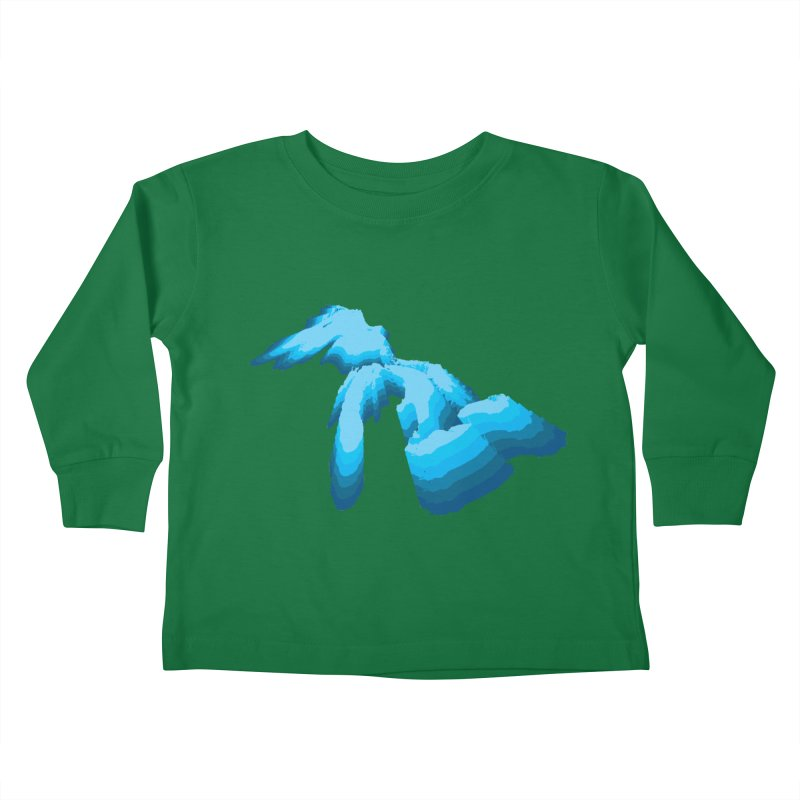 GREAT GREAT LAKES Kids Toddler Longsleeve T-Shirt by    Flummox Industries