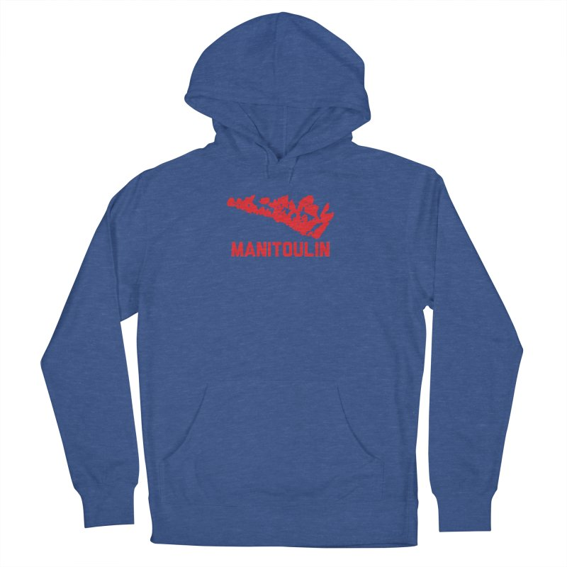 MANITOULIN - RED Women's Pullover Hoody by    Flummox Industries