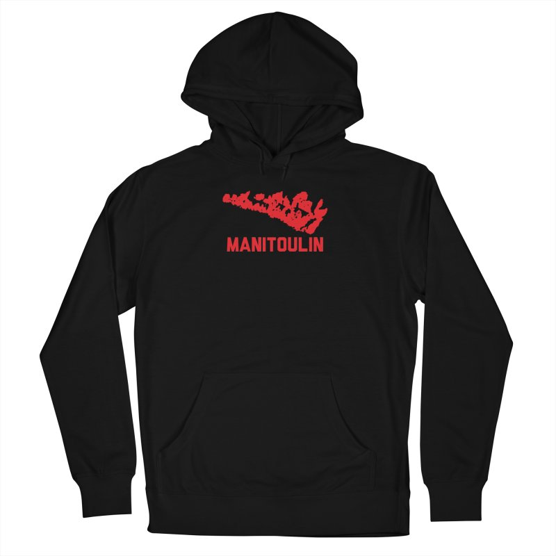 MANITOULIN - RED Men's Pullover Hoody by    Flummox Industries