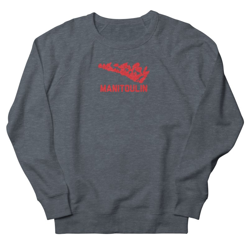 MANITOULIN - RED Women's Sweatshirt by    Flummox Industries