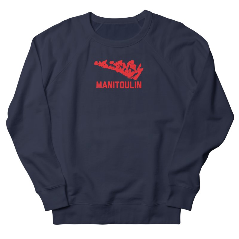 MANITOULIN - RED Women's Sweatshirt by    Flummox Industries