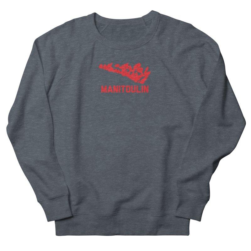 MANITOULIN - RED Men's Sweatshirt by    Flummox Industries