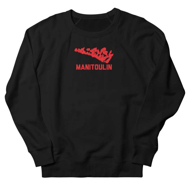 MANITOULIN - RED Men's Sweatshirt by    Flummox Industries