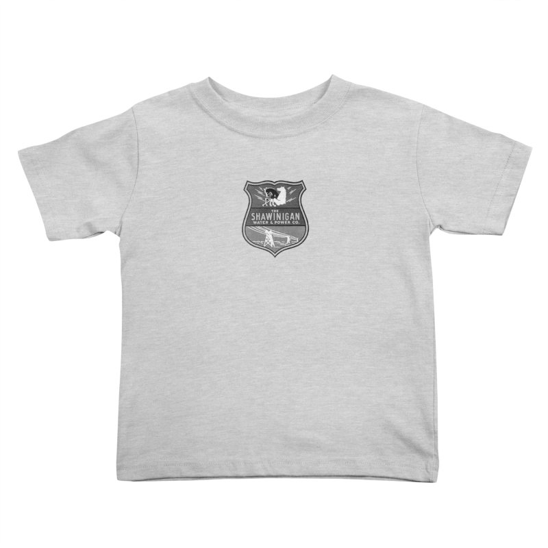 SHAWINIGAN WATER AND POWER Kids Toddler T-Shirt by    Flummox Industries