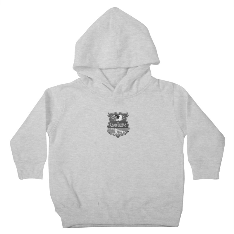 SHAWINIGAN WATER AND POWER Kids Toddler Pullover Hoody by    Flummox Industries