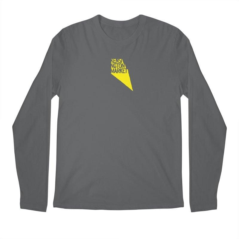 KENSINGTON MARKET - YELLOW Men's Longsleeve T-Shirt by    Flummox Industries
