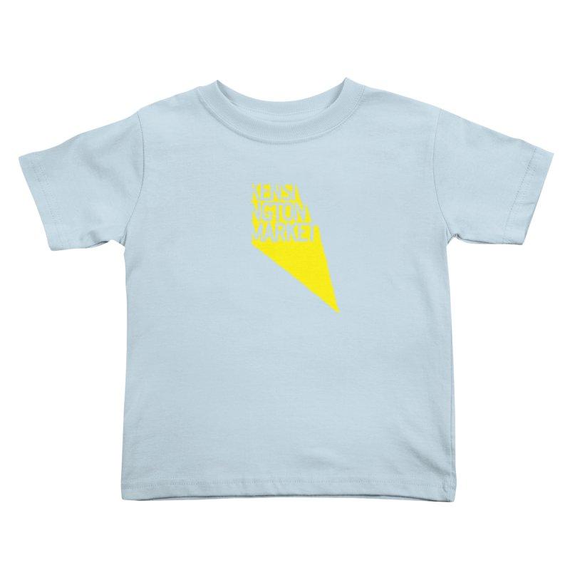 KENSINGTON MARKET - YELLOW Kids Toddler T-Shirt by    Flummox Industries