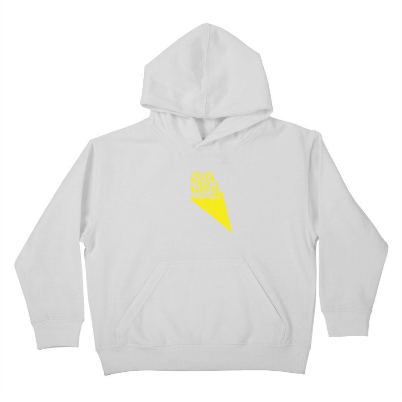 KENSINGTON MARKET - YELLOW Kids Pullover Hoody by    Flummox Industries