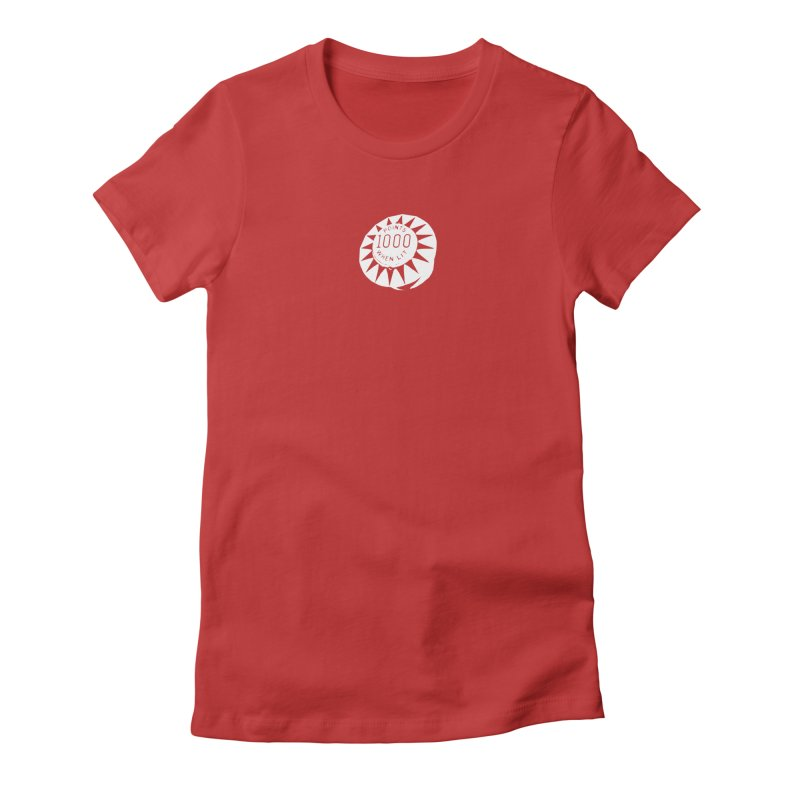 DING DING DING DING DING Women's Fitted T-Shirt by    Flummox Industries