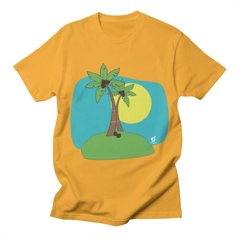 "Coconut Trees Men's T-Shirt by FoodEqualityShop""s Artist Shop"
