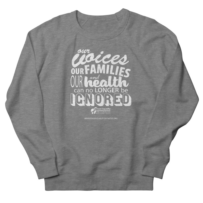 """FEI's Be Bold Quote Women's Sweatshirt by FoodEqualityShop""""s Artist Shop"""