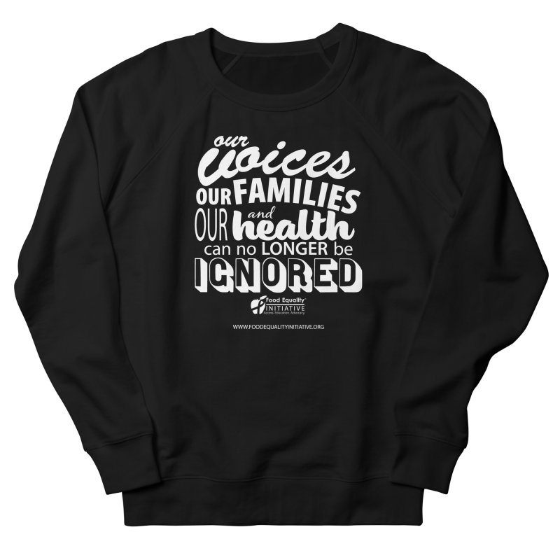 "FEI's Be Bold Quote Women's Sweatshirt by FoodEqualityShop""s Artist Shop"