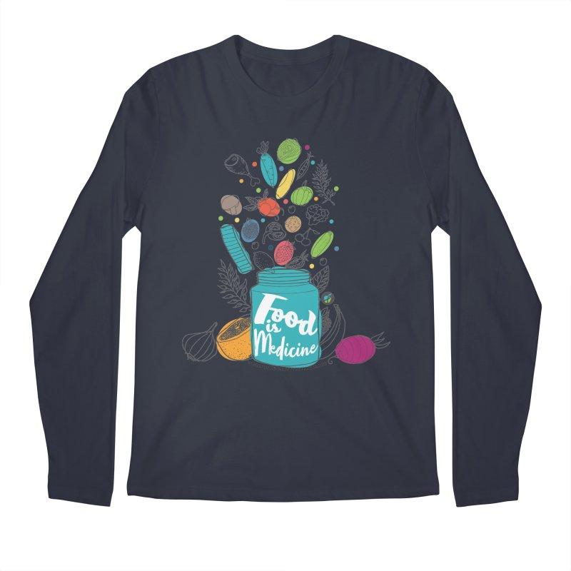 "Food is Medicine Men's Longsleeve T-Shirt by FoodEqualityShop""s Artist Shop"