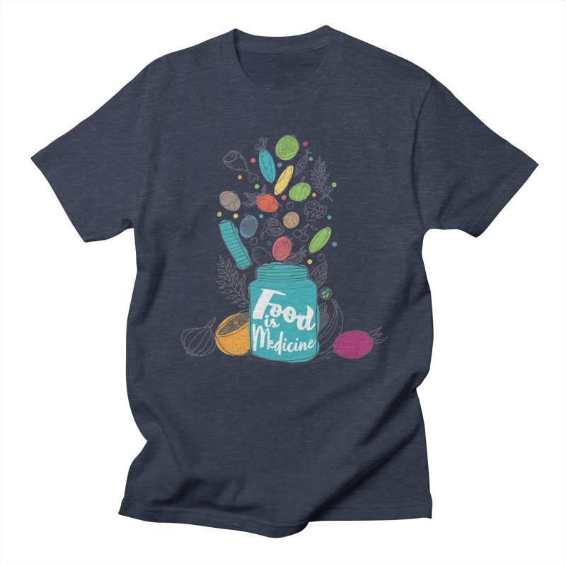 "Food is Medicine Men's T-Shirt by FoodEqualityShop""s Artist Shop"