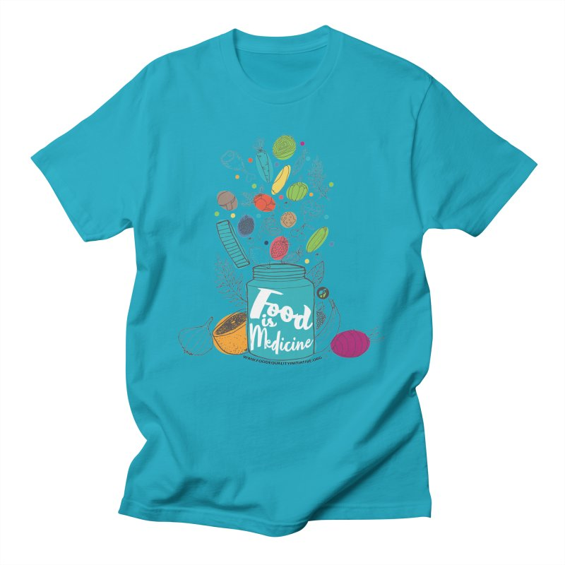 """Food is Medicine Women's T-Shirt by FoodEqualityShop""""s Artist Shop"""