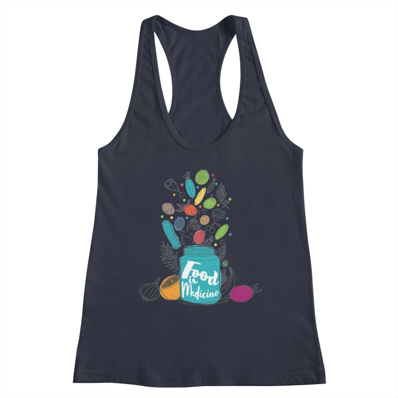 "Food is Medicine Women's Tank by FoodEqualityShop""s Artist Shop"
