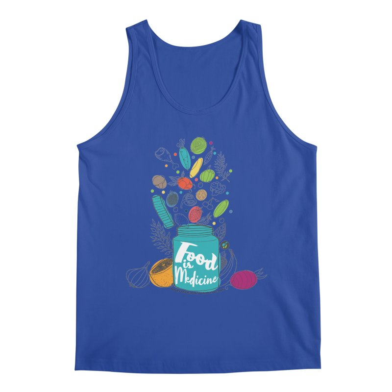 "Food is Medicine Men's Tank by FoodEqualityShop""s Artist Shop"