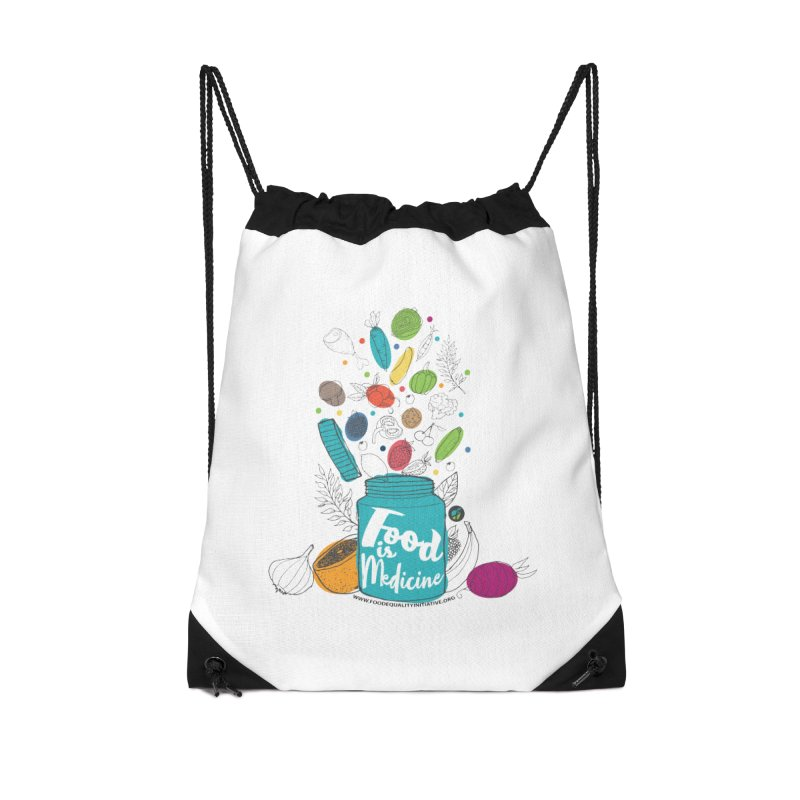 "Food is Medicine Accessories Bag by FoodEqualityShop""s Artist Shop"