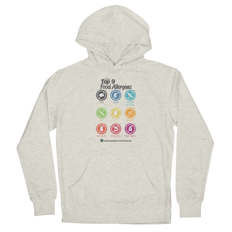 """The Top 9 Food Allergens Women's Pullover Hoody by FoodEqualityShop""""s Artist Shop"""
