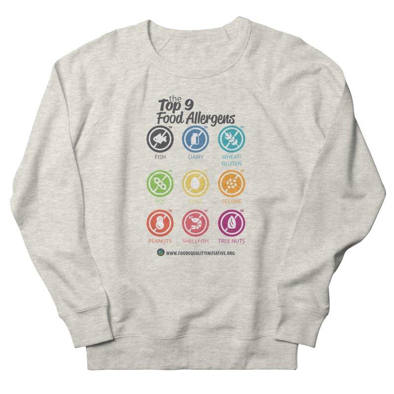 "The Top 9 Food Allergens Men's Sweatshirt by FoodEqualityShop""s Artist Shop"