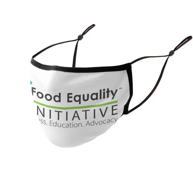 """FEI Logo Accessories Face Mask by FoodEqualityShop""""s Artist Shop"""