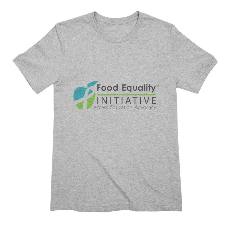 "FEI Logo Men's T-Shirt by FoodEqualityShop""s Artist Shop"