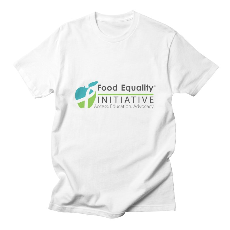 "FEI Logo Men's T-Shirt by FoodEqualityShop""s Artist Shop"