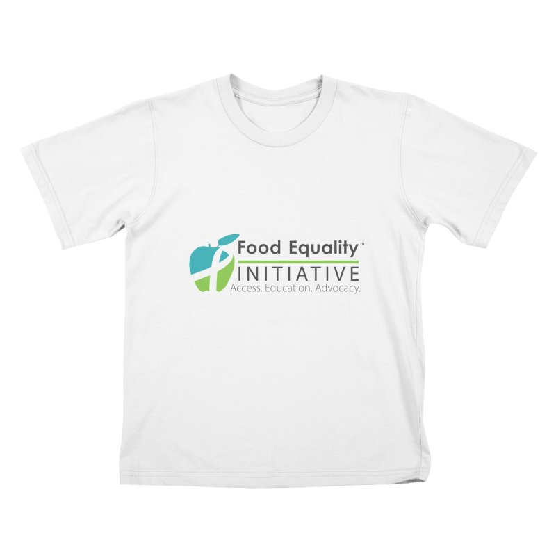 "FEI Logo Kids T-Shirt by FoodEqualityShop""s Artist Shop"