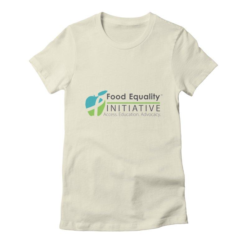 "FEI Logo Women's T-Shirt by FoodEqualityShop""s Artist Shop"