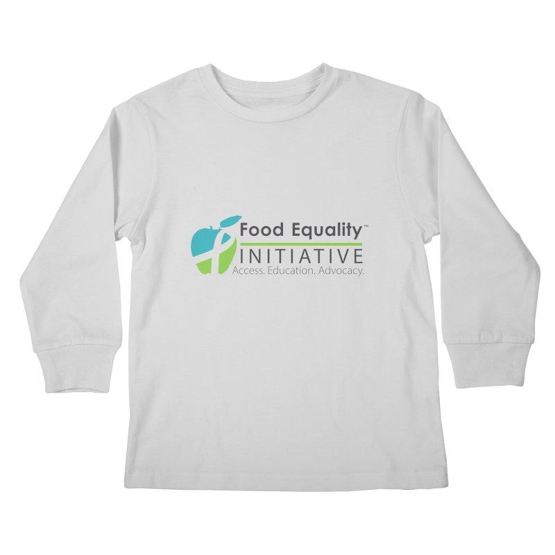 "FEI Logo Kids Longsleeve T-Shirt by FoodEqualityShop""s Artist Shop"