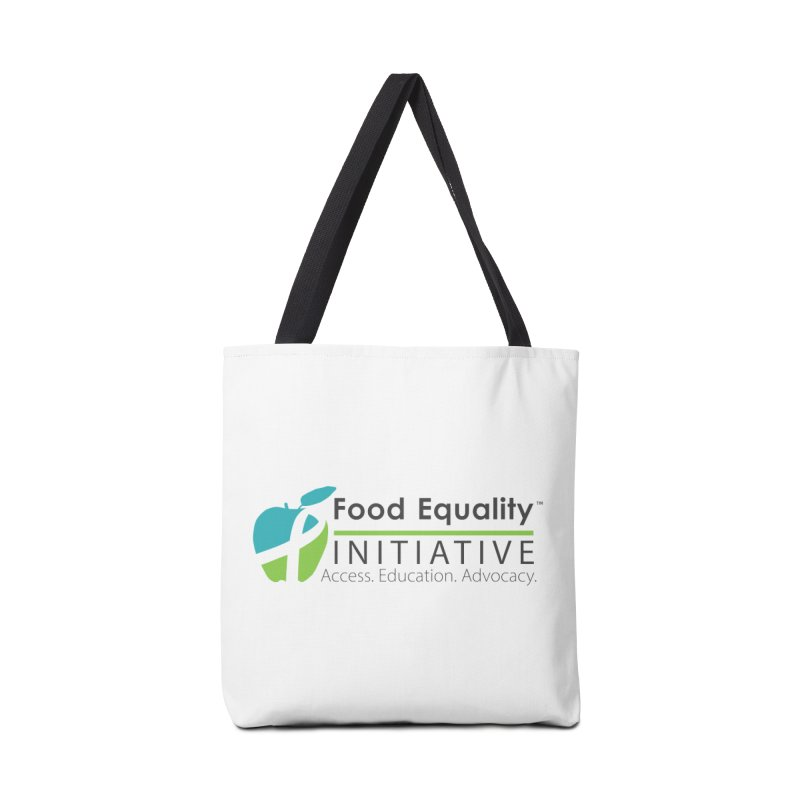 "FEI Logo Accessories Bag by FoodEqualityShop""s Artist Shop"