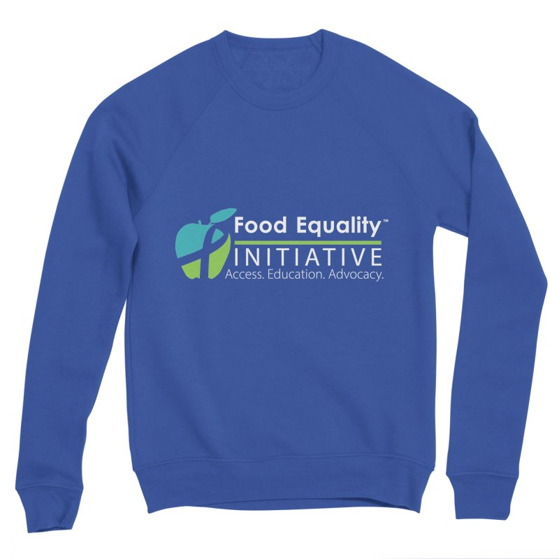 "FEI Logo in White Men's Sweatshirt by FoodEqualityShop""s Artist Shop"