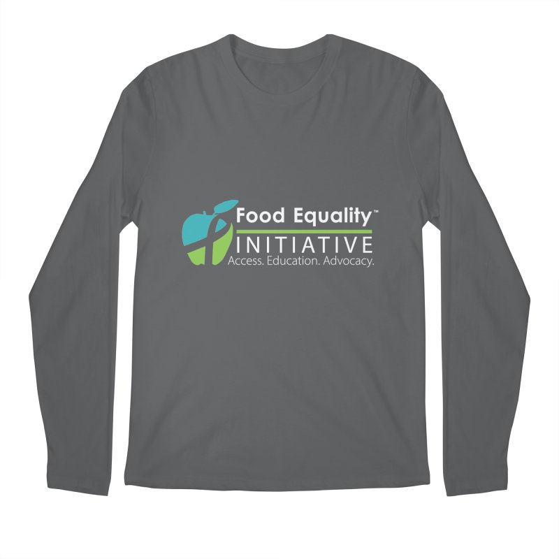 "FEI Logo in White Men's Longsleeve T-Shirt by FoodEqualityShop""s Artist Shop"