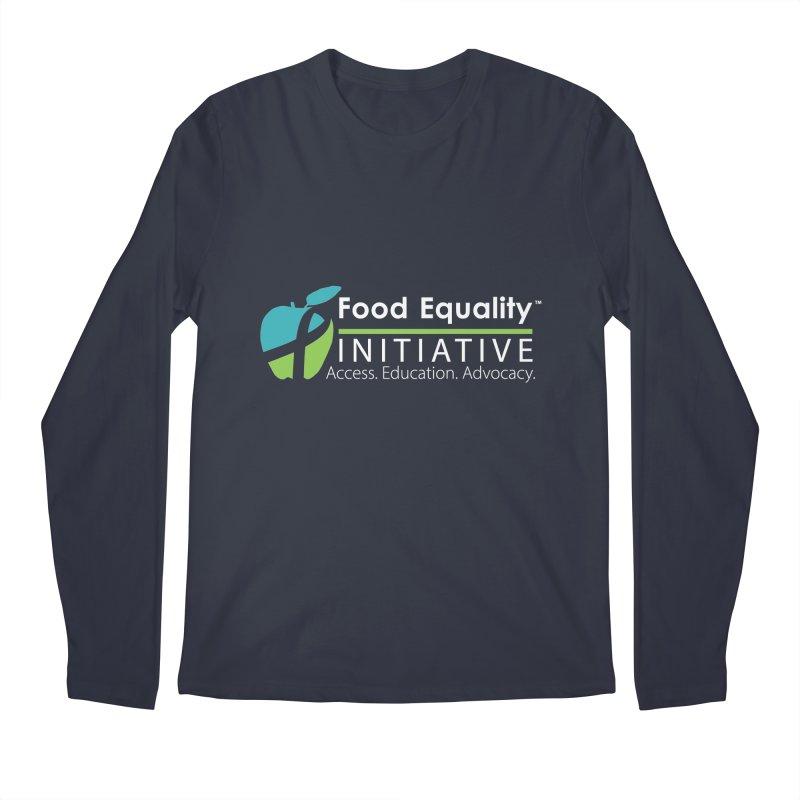 "FEI Logo in White Men's Longsleeve T-Shirt by FoodEqualityShop""s Artist Shop"