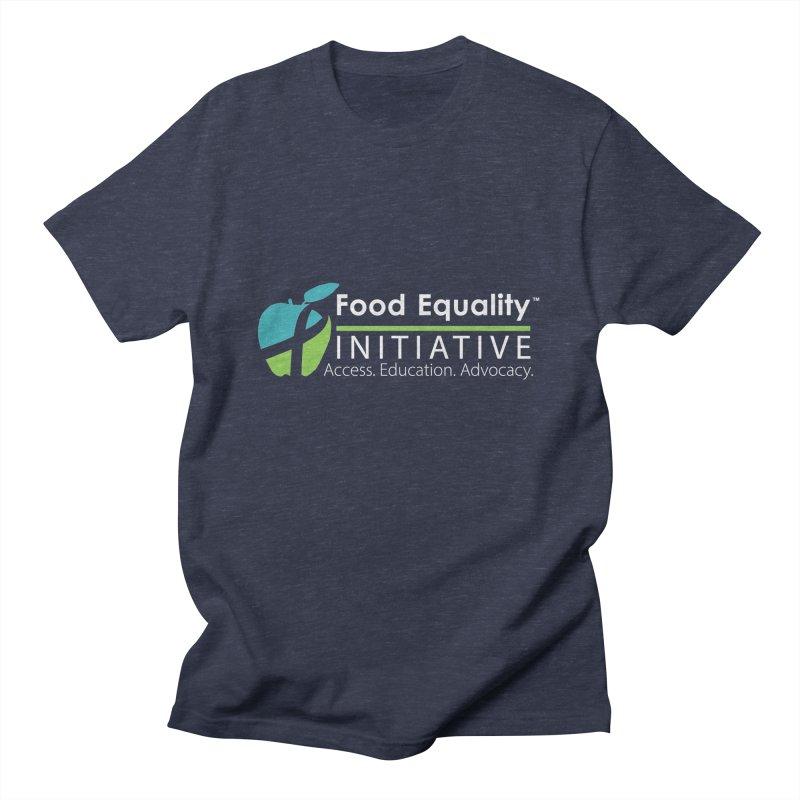 "FEI Logo in White Men's T-Shirt by FoodEqualityShop""s Artist Shop"