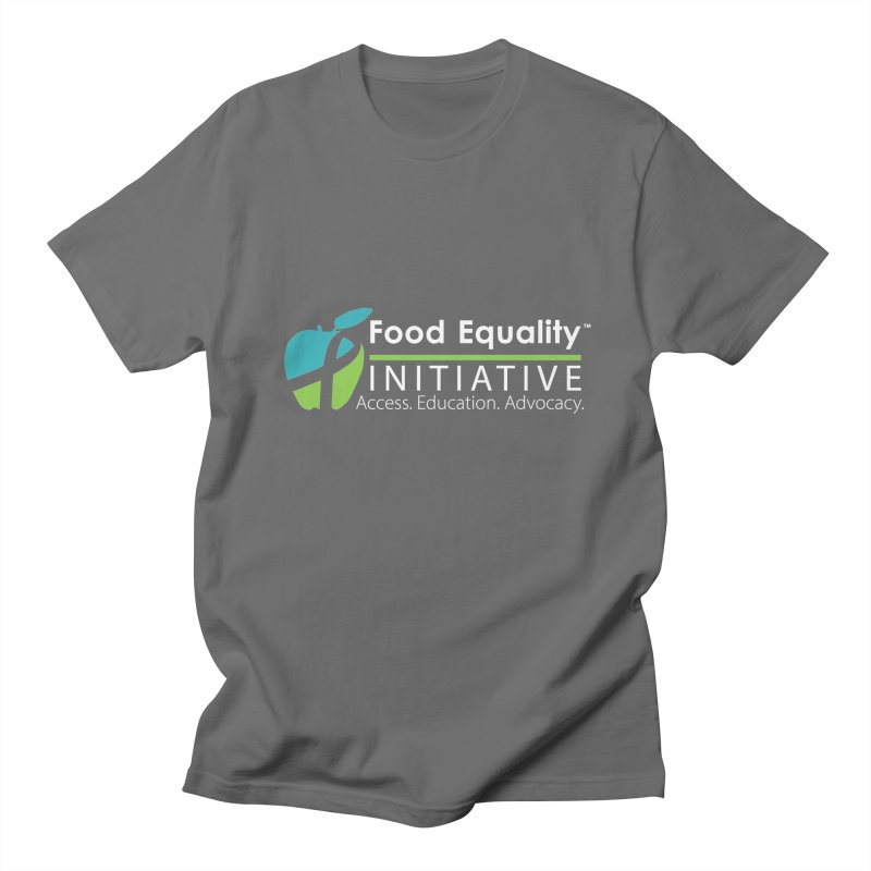 """FEI Logo in White Women's T-Shirt by FoodEqualityShop""""s Artist Shop"""